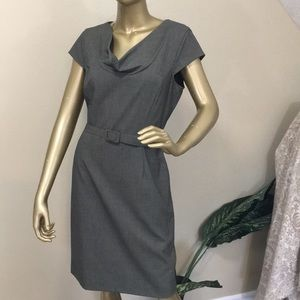 CALVIN KLEIN classic cap sleeve sheath dress, 12